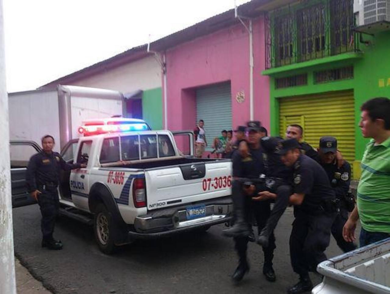 Seis policías heridos deja accidente en La Unión