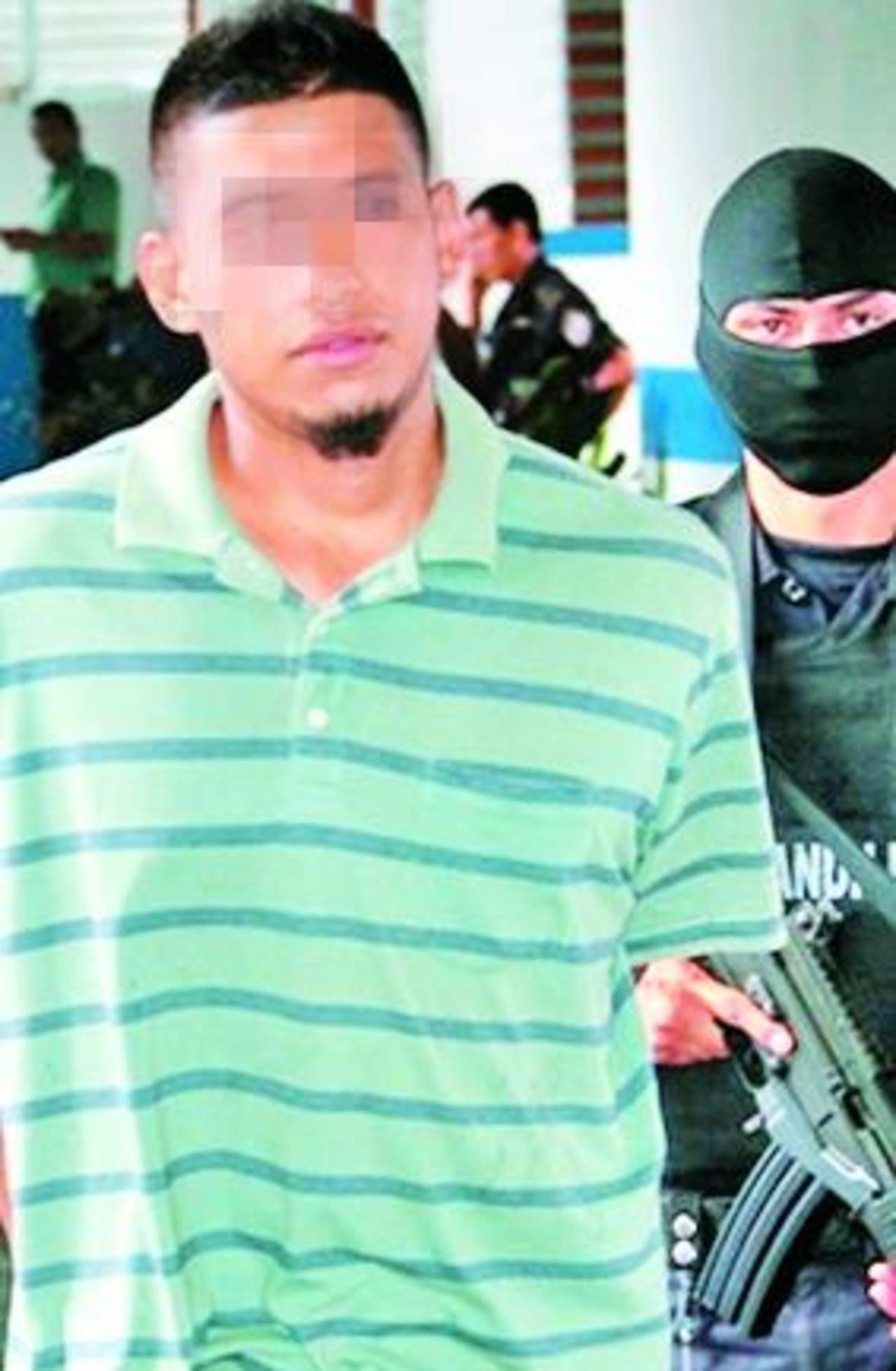 Edgar Benítez fue arrestado en mayo, en Nueva Guadalupe, San Miguel. Foto EDH