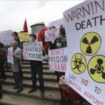 Protestan contra el armamento en Siria.