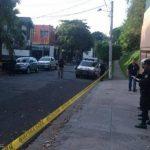La Policía investiga el hecho delincuencial contra Pro-búsqueda. Foto vía Móvil Ericka Chávez