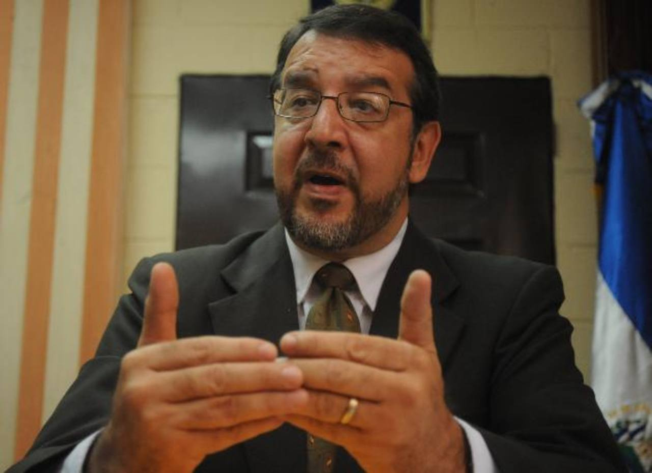 José Miguel Fortín. FOTO EDH Archivo.