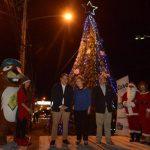 Inauguran decoración navideña en San Salvador