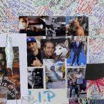 Seguidores del actor Paul Walker colocaron fotos y mensajes en el lugar donde ocurrió el accidente. Foto/ AP
