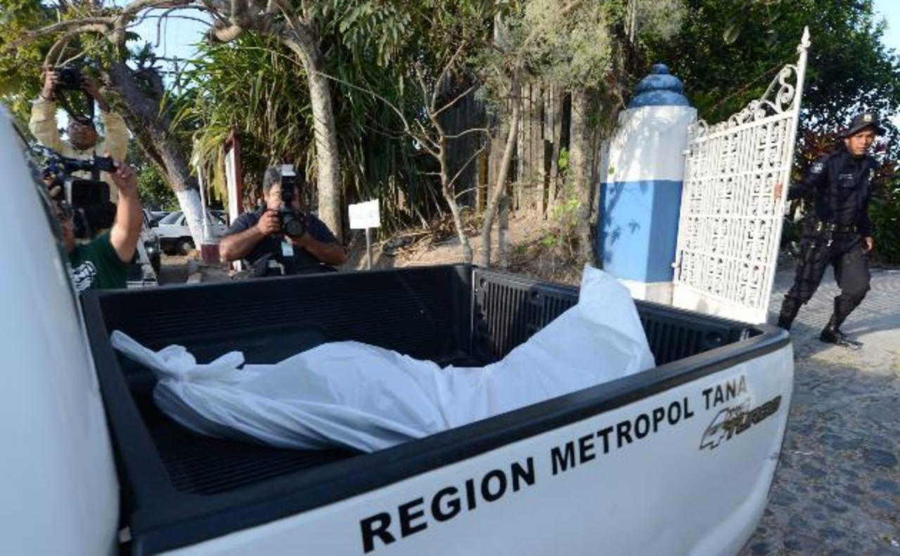 El homicidio fue perpetrado el 2 de marzo pasado en los Planes de Renderos. FOTO EDH Archivo.