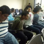 Comienza audiencia preliminar o antesala del juicio contra otros 10 involucrados en la muerte de la atleta Alisson Isela Renderos; el hecho fue cometido en San Vicente. Foto EDH