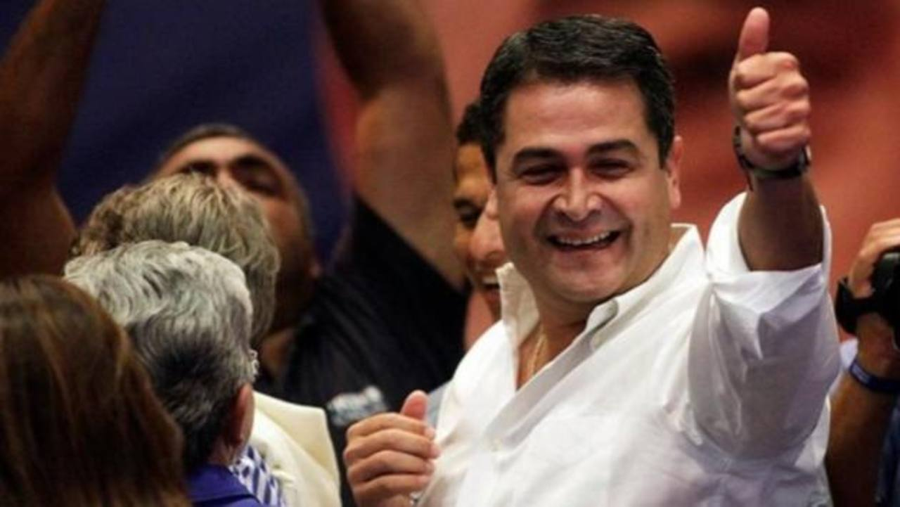 Juan Orlando Hernández, presidente electo.