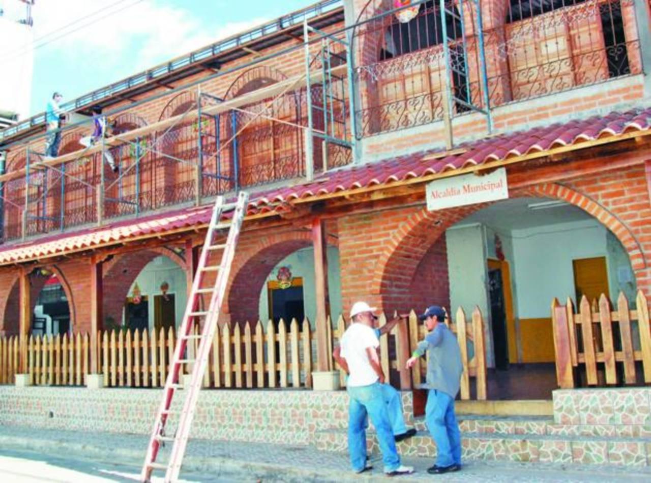 Los trabajos han incluido muchos detalles coloniales en la infraestructura. Foto EDH/ CORTESÍA