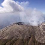 Mantienen alerta naranja en San Miguel por actividad de volcán Chaparrastique