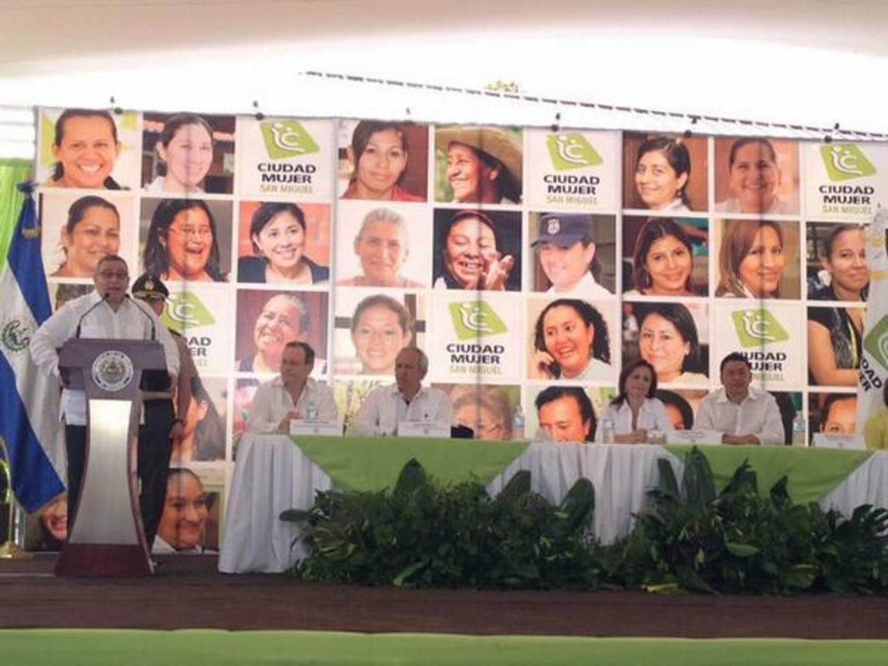 El Gobierno inauguró la quinta sede del programa Ciudad Mujer en San Miguel. Foto @SecInclusionSV