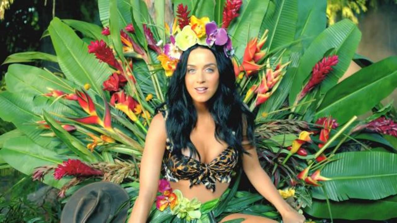 """Katy Perry en una escena de """"Roar"""". Hasta ayer por la tarde la producción había sido vista en Youtube 291.244.290 veces."""