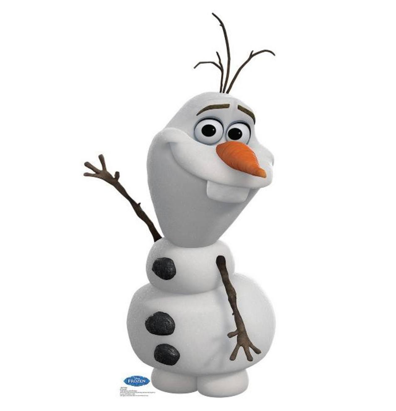 OLAF ama los abrazos cálidos
