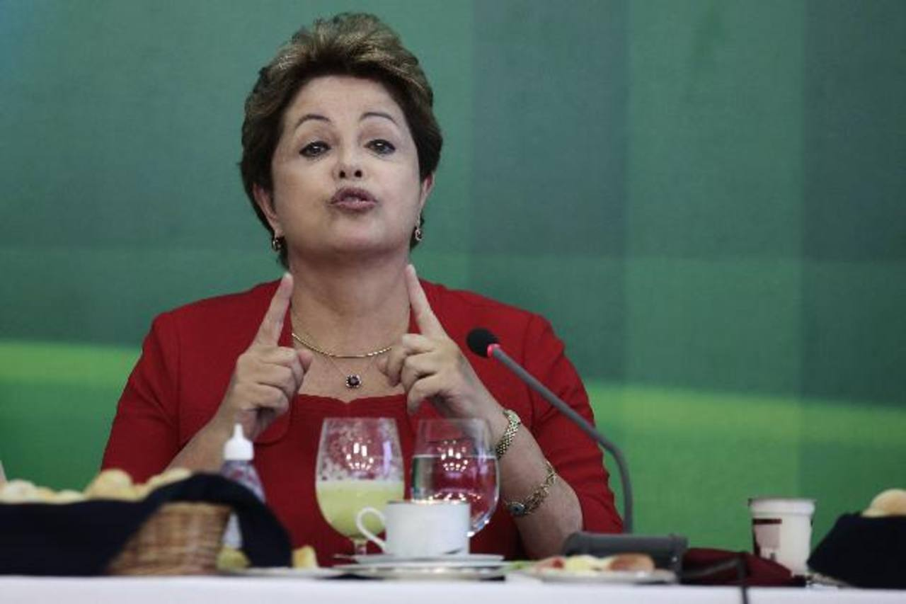 La presidenta brasileña se ha quejado del espionaje de los Estados Unidos.