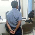 El guardia fue detenido minutos después de haber sido arrestado con varias bolsas que contenían cocaína. Foto EDH/ Archivo
