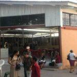 Plaza donde serán reubicados los vendedores en Santa Ana.