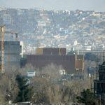 Vista general de la embajada de los Estados Unidos en Kabul, Afganistán. foto edh / AP
