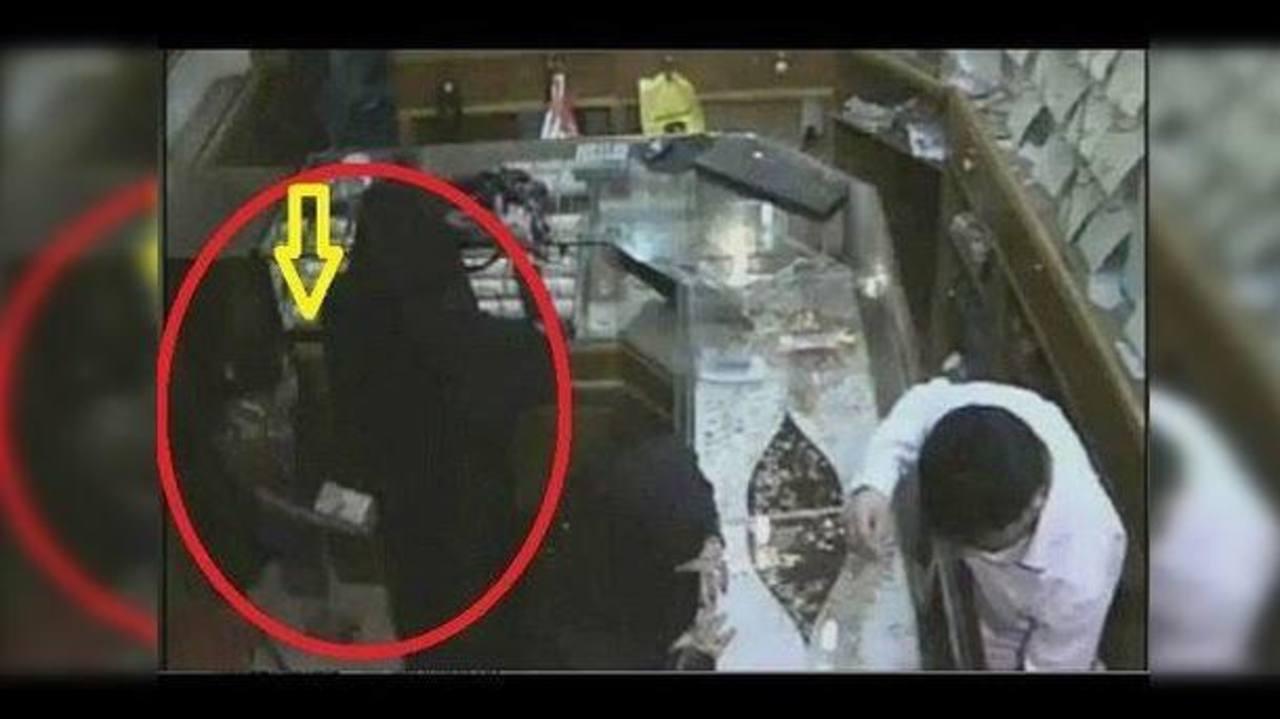 Video: Niña roba más de 124 mil dólares en joyería