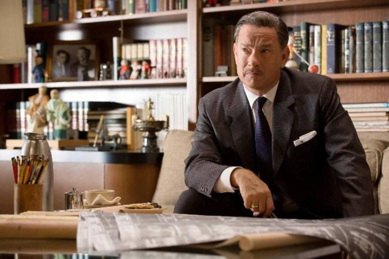 El actor Tom Hanks como el empresario Walt Disney, en una escena de 'El Sueño de Walt'. foto EDH /