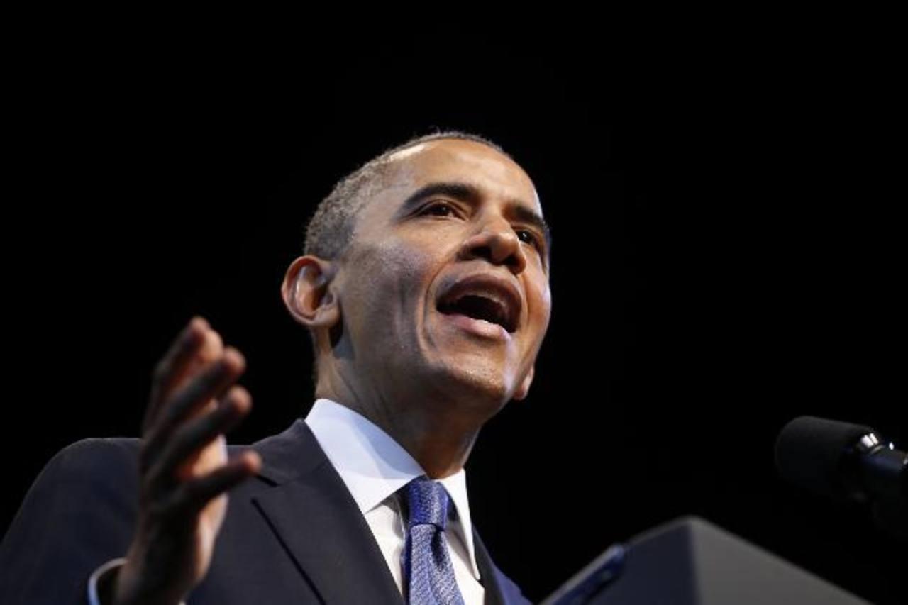 Aunque a Barack Obama no le permiten Iphone, sí le permiten el Ipad. foto edh/archivo