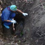 En la finca El Limón, de la Villa Lourdes, en Colón, La Libertad, se ha encontrado el cementerio clandestino. FOTO EDH Archivo.