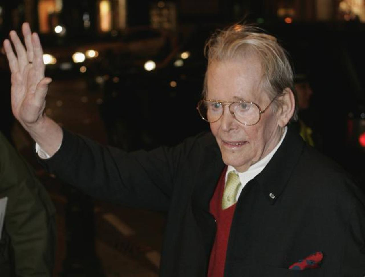 Fallece Peter O'Toole, astro de Lawrence de Arabia