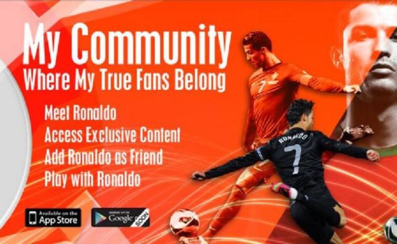 CR7 lanzó su propia red social.