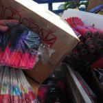 La Policía incautó la semana pasada producto pirotécnico prohibido en Pasaquina, La Unión. Foto/ Archivo