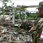 Ocho muertos dejó un ataque efectuado por rebeldes de las FARC.