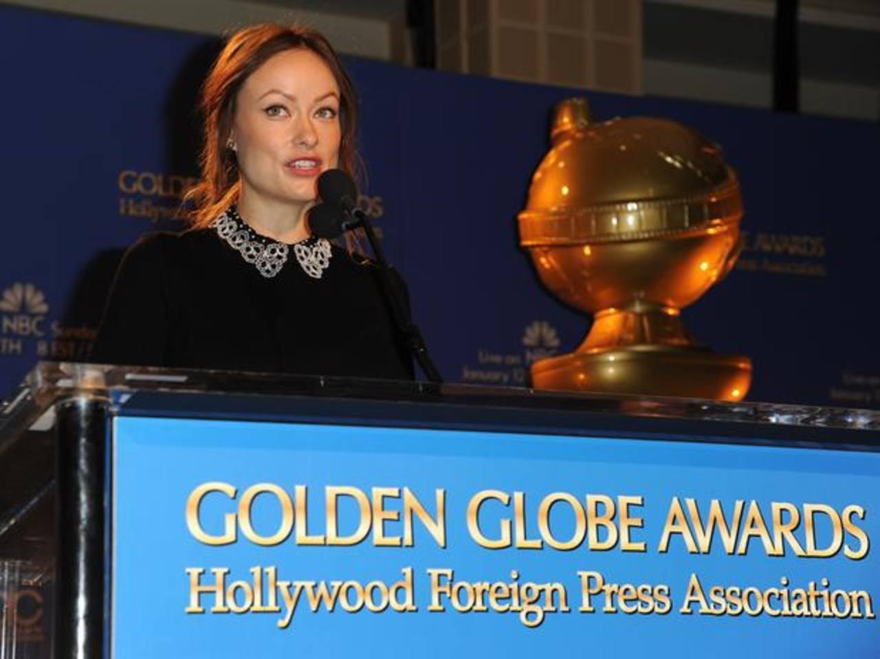 Olivia Wilde una de las encargadas de anunciar a los nominados.