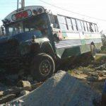 Cuatro personas lesionadas en accidente de tránsito