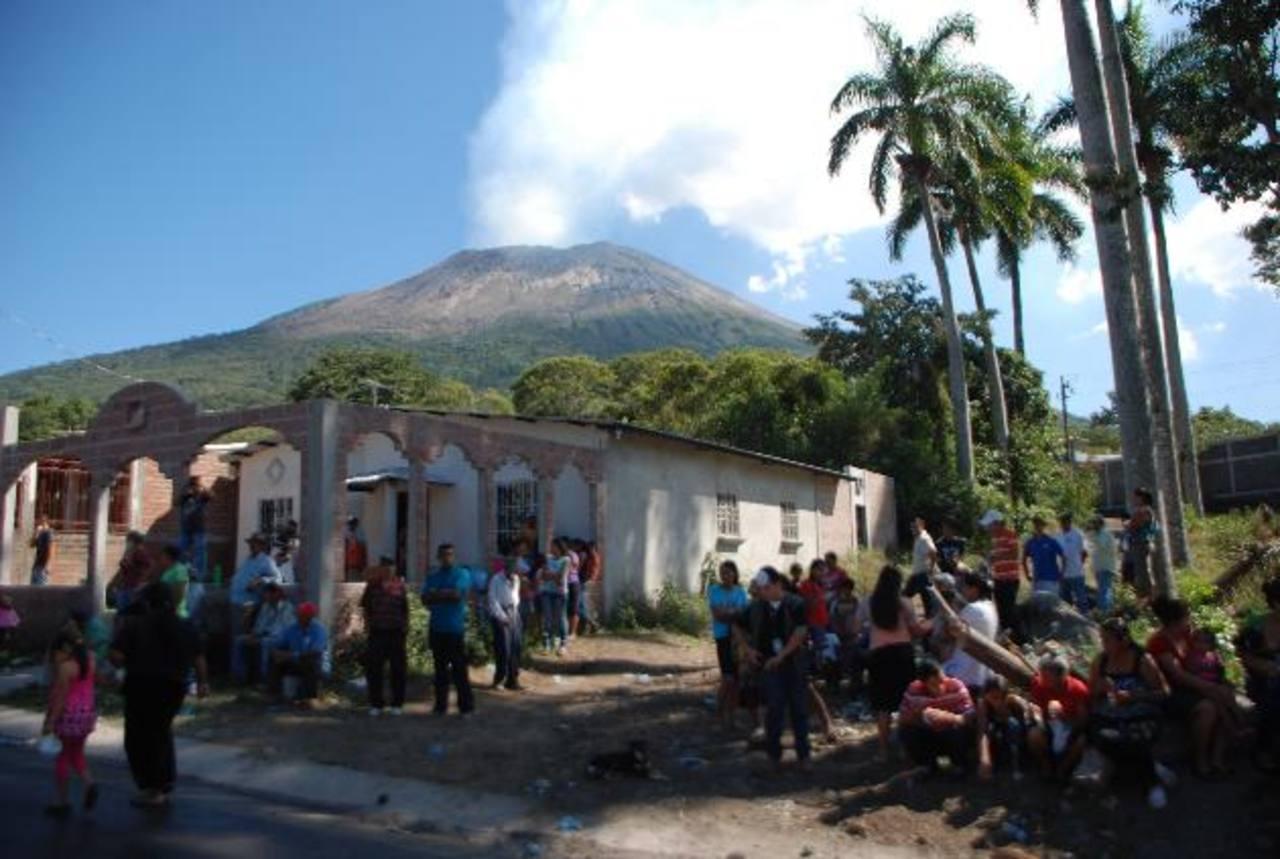 Expectativa por comportamiento de volcán Chaparrastique