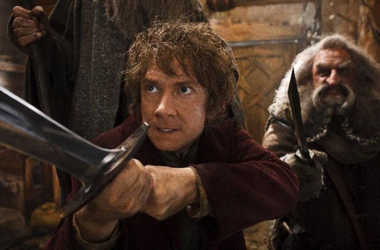 """Una de las escenas de la cinta """"The Hobbit; The Desolation of Smaug"""". Foto/ AP"""