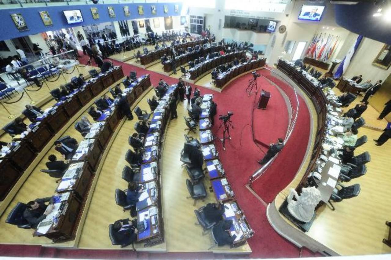 Con los votos de todas las bancadas el 5 de diciembre se aprobaron reformas a la Ley de Lavado y Activos. Foto edh /archivo