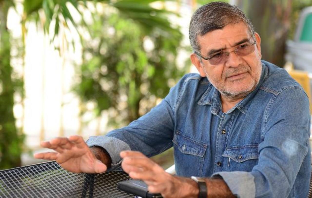 Facundo Guardado fue dirigente y candidato presidencial del FMLN. Foto EDH