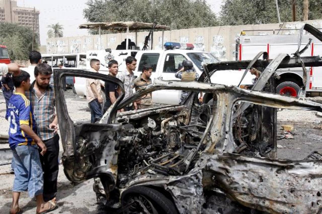 Nadie se ha adjudicado los atentados, pero la decreciente comunidad cristiana en Irak. FOTO EDH Agencias.