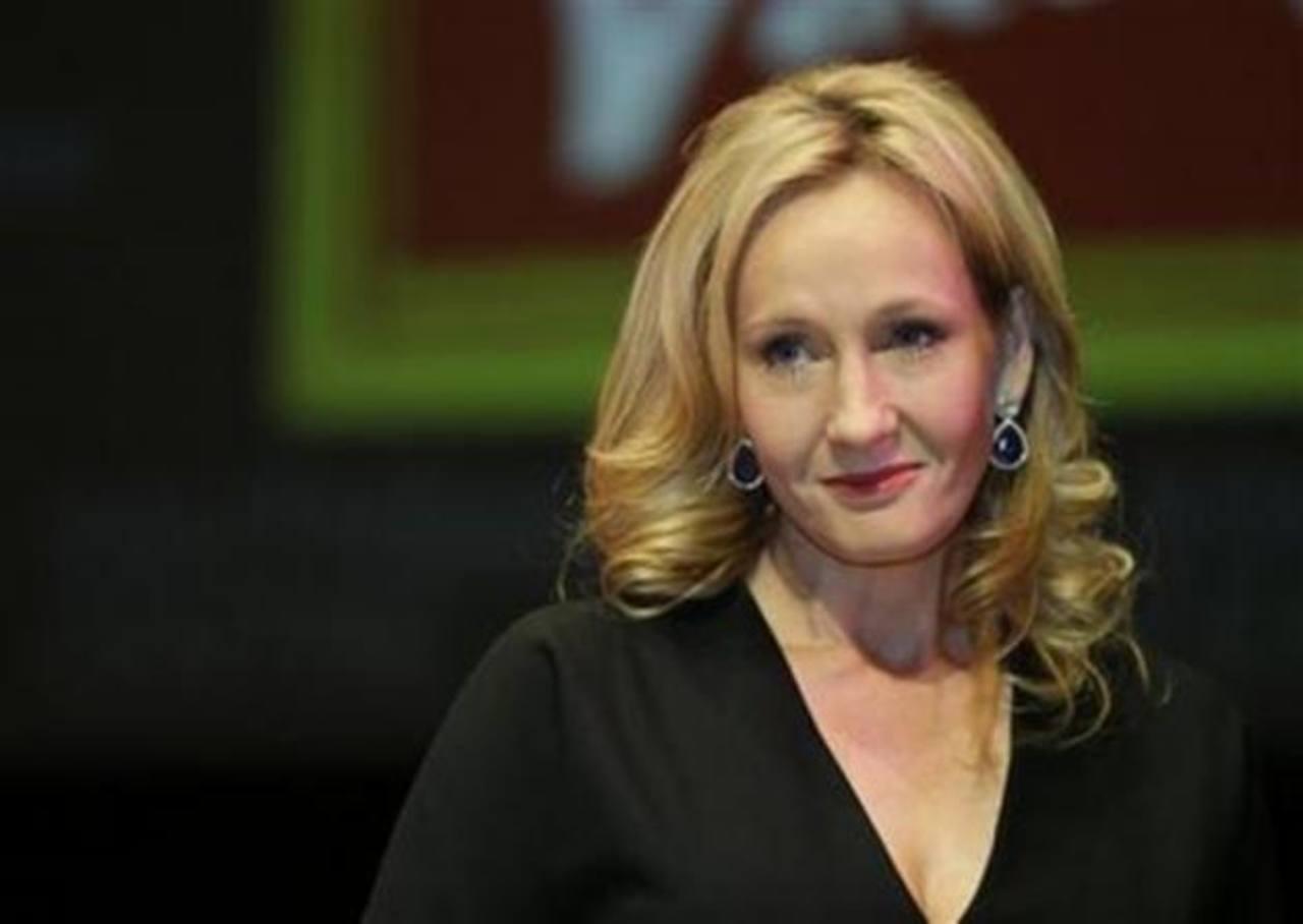 """J.K. Rowling durante la presentación de """"The Casual Vacancy""""."""