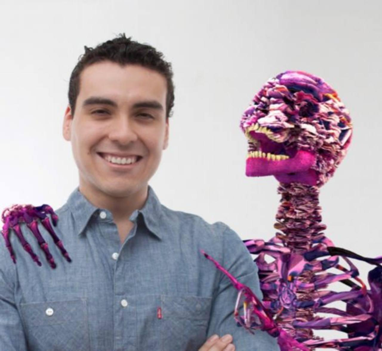 Salvador Guzmán es el creador del audiovisual. foto cortesía