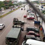 El camión fue robado en Tepojaco, cerca de Ciudad de México. FOTO EDH Archivo.