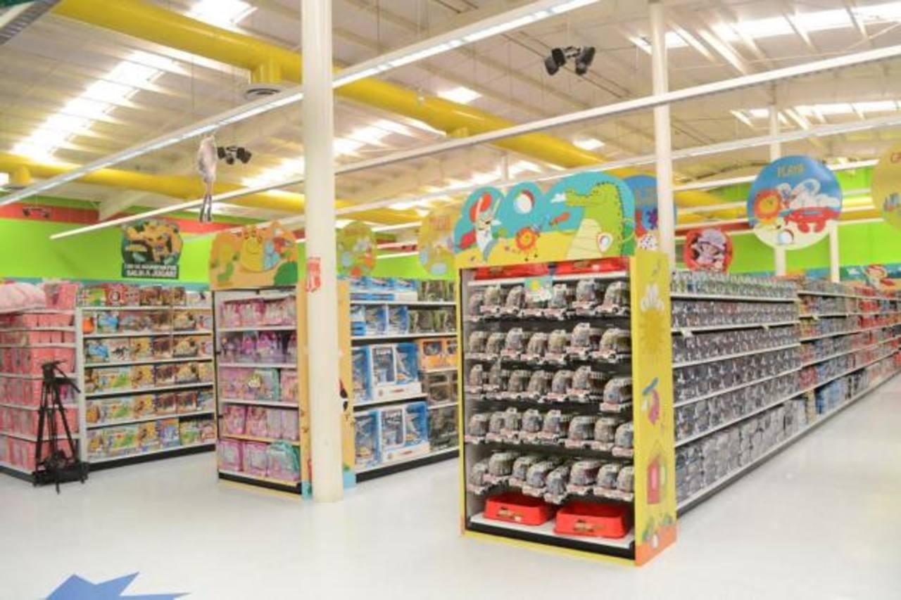 Juguetón es una de las tiendas más surtidas con más de 50 mil juguetes diferentes. Foto edh / David Rezzio