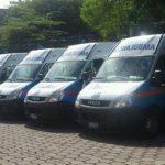 Una flota de 10 ambulancias serán utilizadas, y trabajarán en coordinación con ocho hospitales. FOTO EDH/M. Pineda