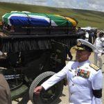 Sudáfrica dio el último adiós a Nelson Mandela. Foto/ AP