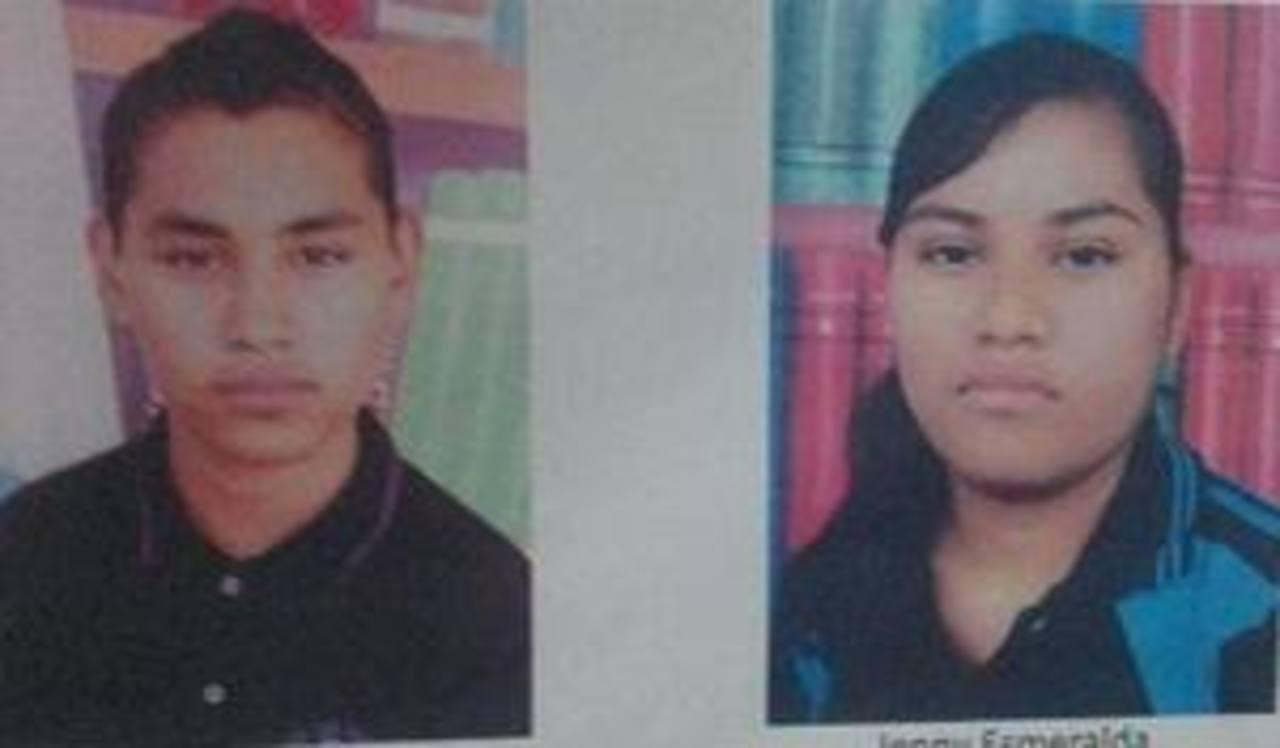 Los hermanos Ernesto Antonio y Jenny Esmeralda Martínez, de 20 y 19 años, están desaparecidos. Cualquier información sobre ellos, llamar al 7328-5284.