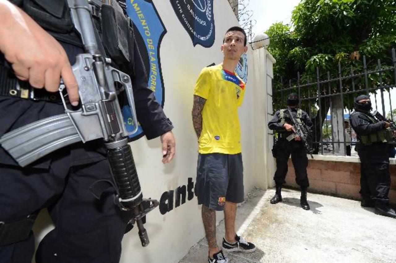 William Alexánder Mejía Argueta, El Baxter, fue detenido en julio, acusado de ser el autor intelectual del asesinato de El Jaguar.