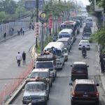 La Troncal del Norte ha colapsado por el tráfico. FOTO EDH/ Jorge Reyes