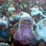 Antiguo Cuscatlán clausura sus fiestas con procesión de Niños Inocentes