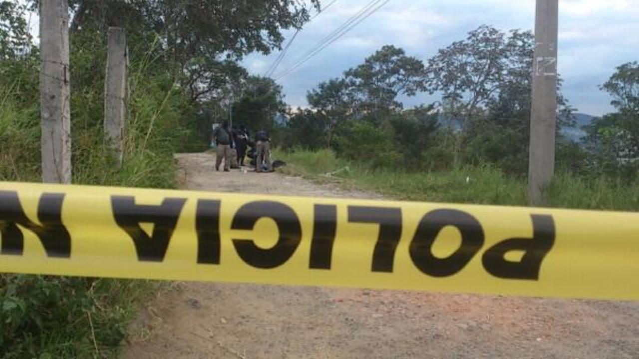 Esta es la escena del homicidio. FOTO EDH Claudia Castillo.