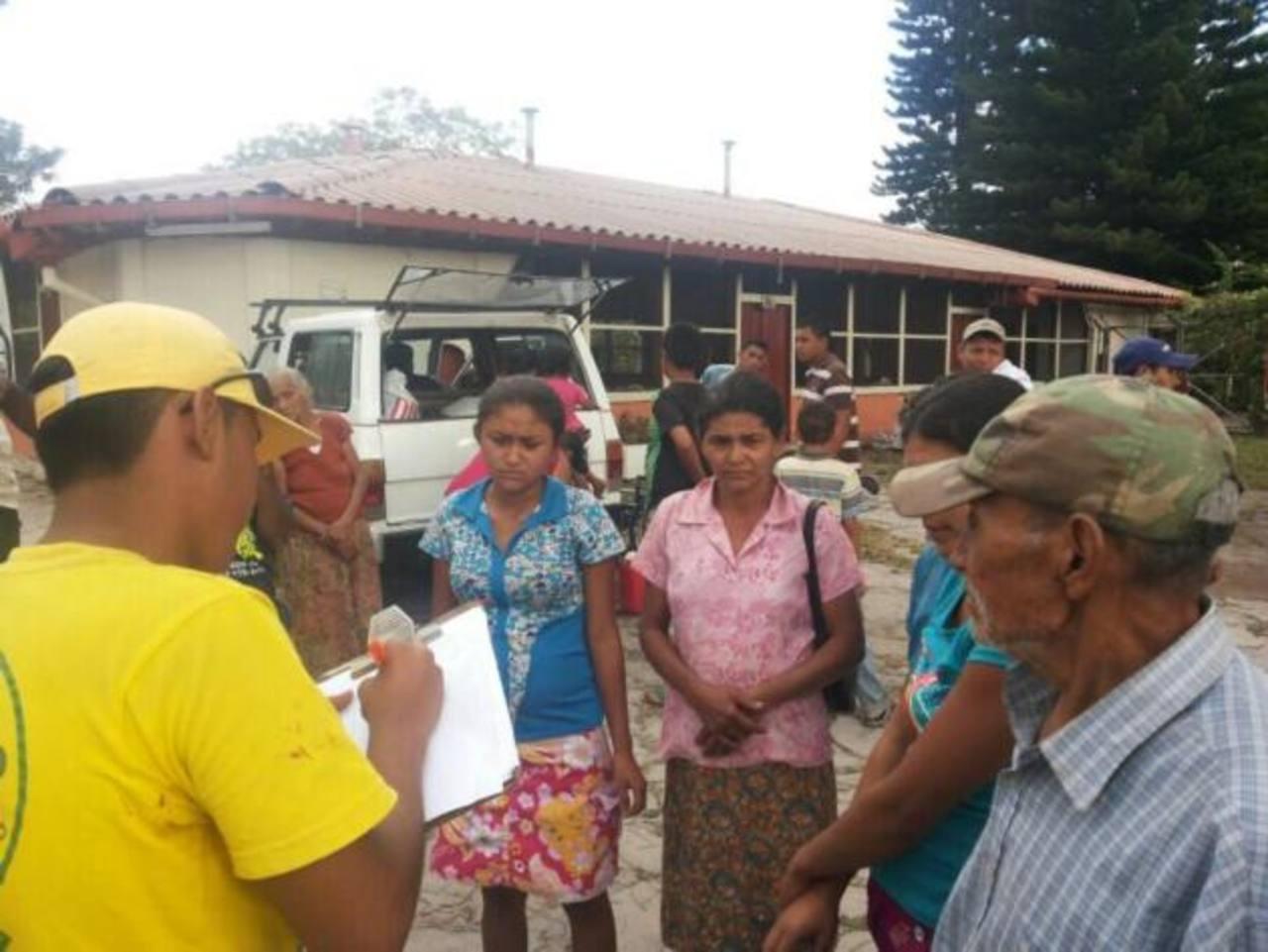 En la Finca San Isidro han habilitado albergue por la erupción del volcán Chaparrastique