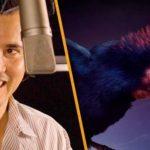 """El actor John Leguizano presta su voz para persona de Alex (Alexornis) en la cinta """"Caminando con dinosaurios""""."""