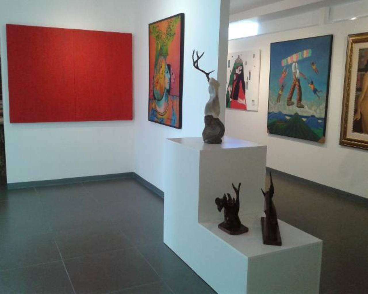 La galería cuenta con amplias instalaciones y nació con el objetivo de apoyar a los artistas locales. FOTO EDH