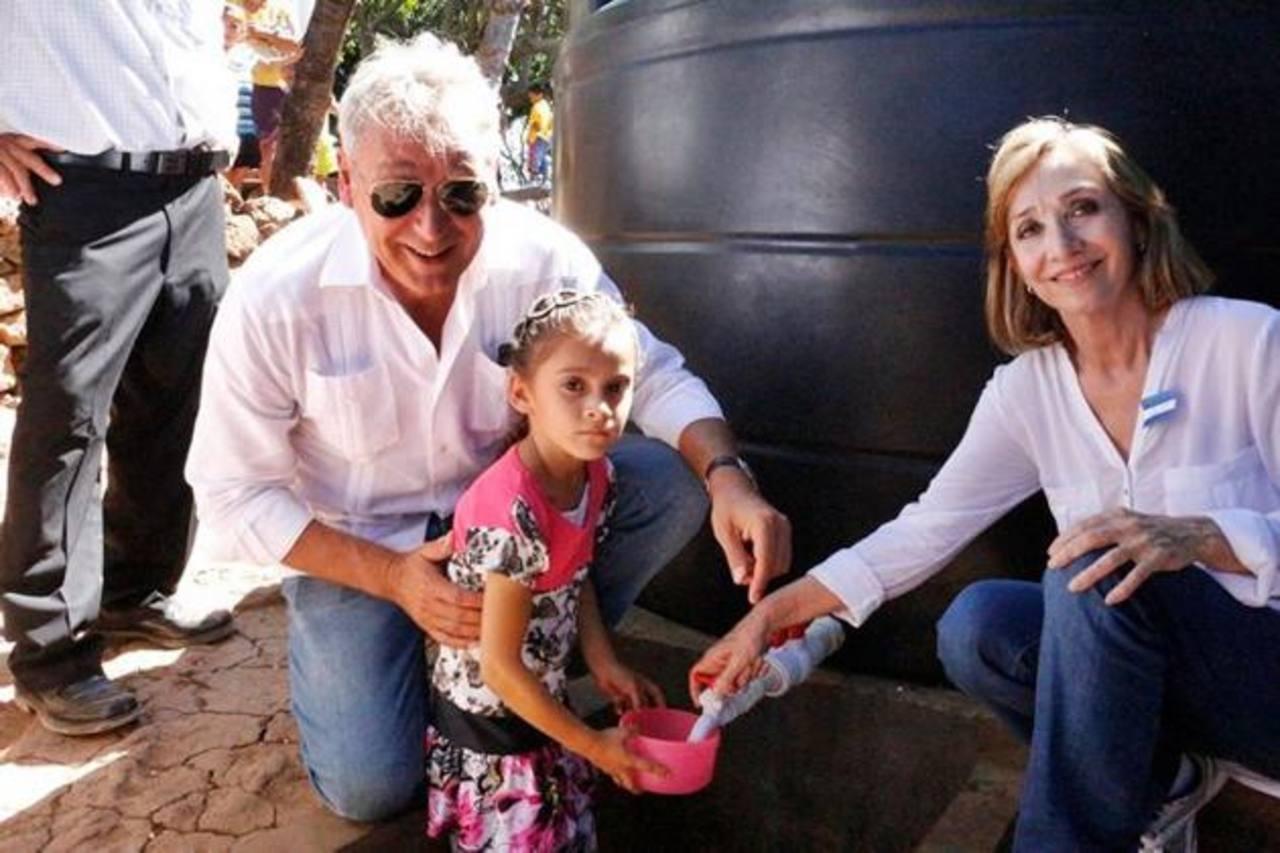Los residentes en La Periquera aseguraron que por años esperaron un proyecto de agua para la comunidad. Hoy el sueño es una realidad. Fotos EDH / insy Mendoza