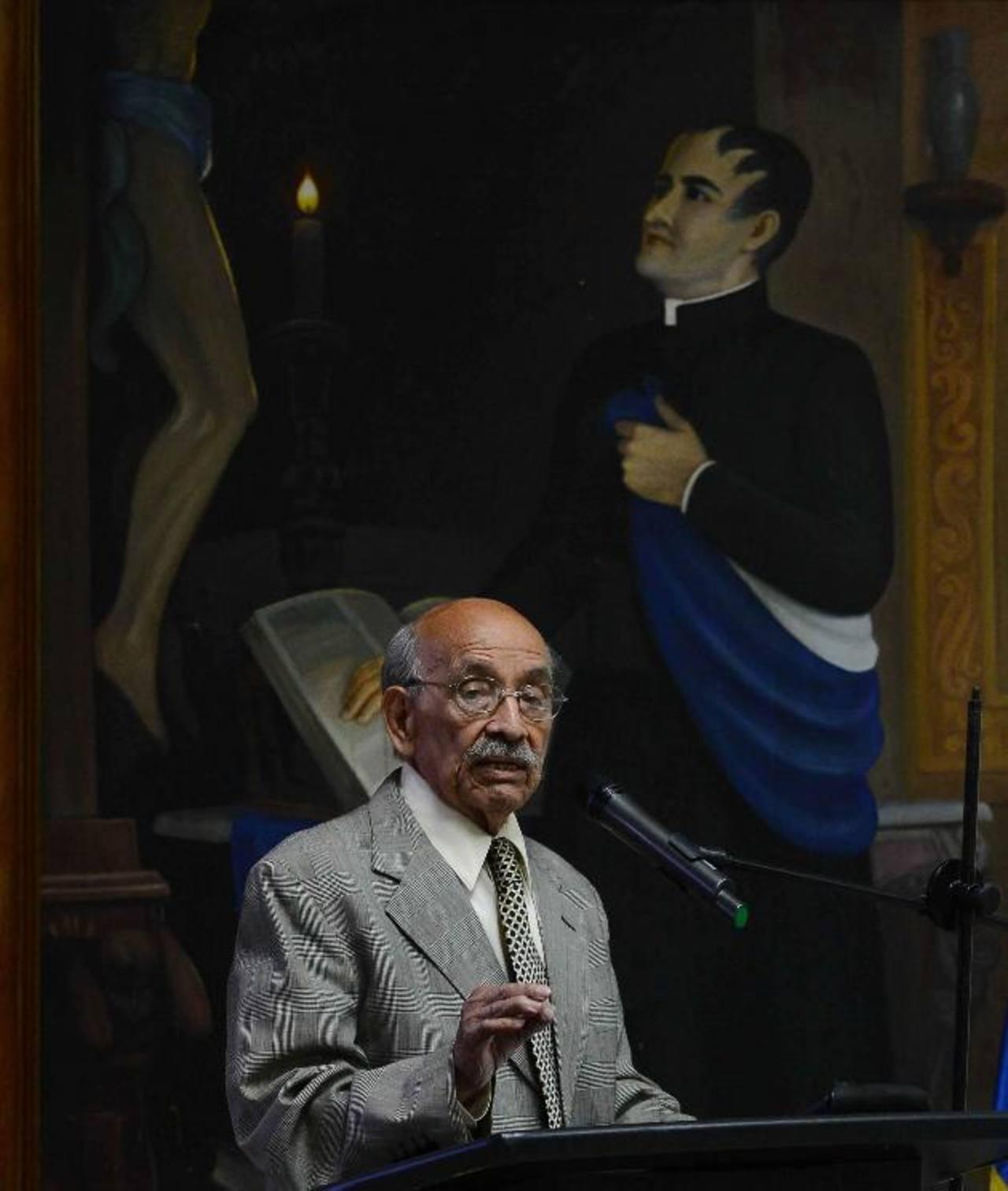 Matías Romero, en la presentación de su investigación.